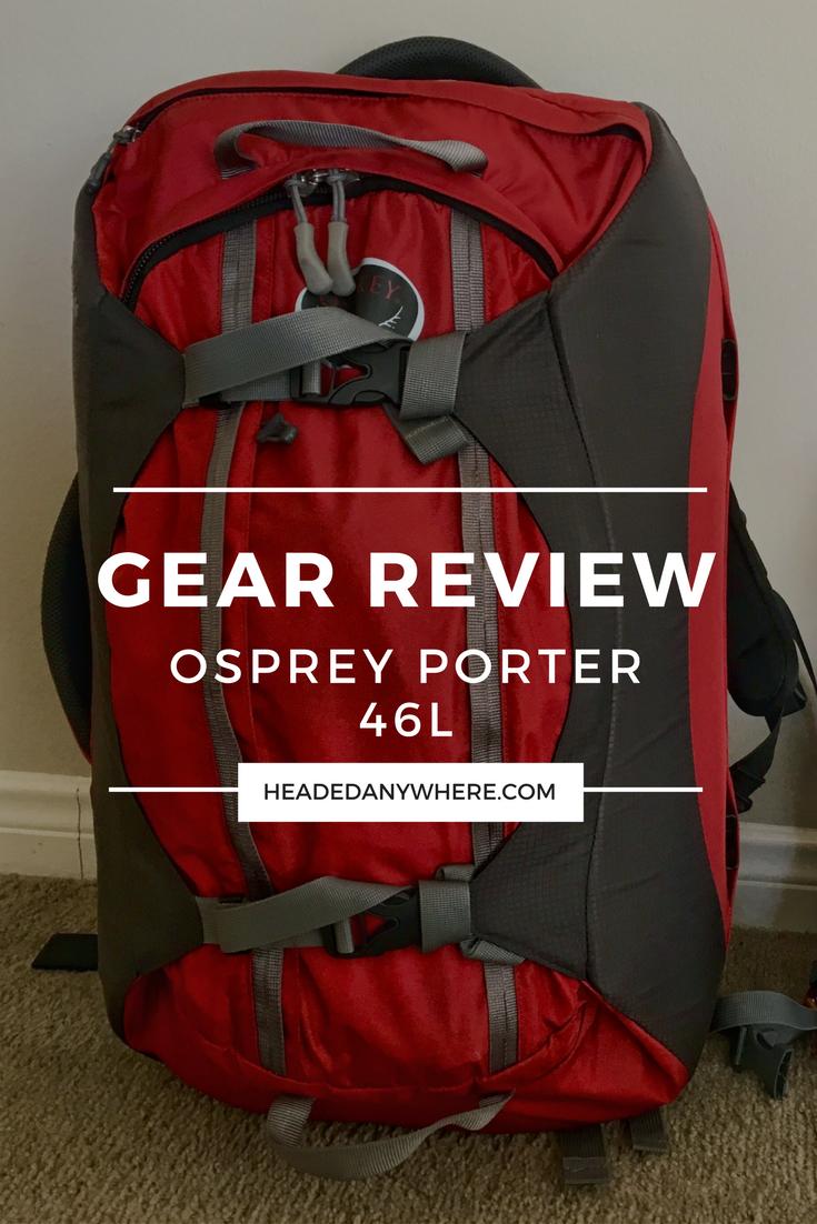 backpack review  osprey porter 46l