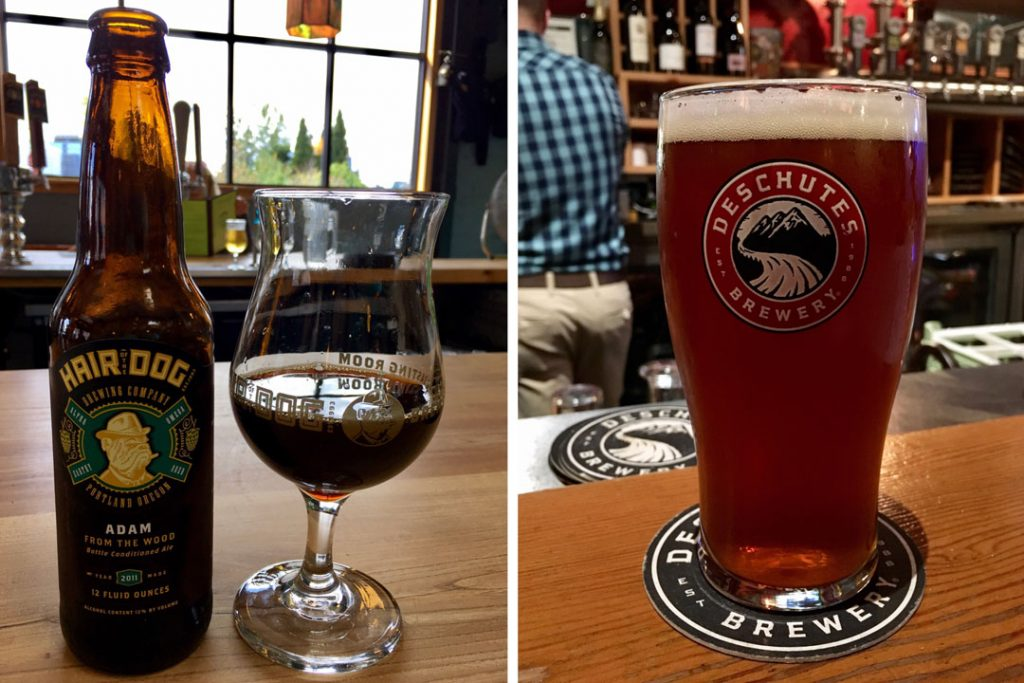 Hair of the Dog and Deschutes Brewery